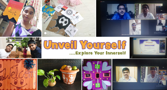 Unveil yourself …Explore your innerself.